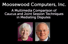 Moosewood Comparative Mediation DVDs